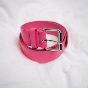 🌞 7 /$10  Hot Pink Faux Leather Belt